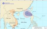 Áp thấp nhiệt đới vào biển Đông