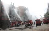 Huyện Tân Uyên tổ chức diễn tập PCCC, cứu hộ, cứu nạn