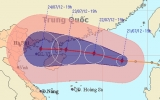 Bão số 4 đi vào biển Đông, các địa phương chuẩn bị đối phó
