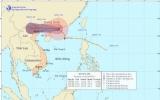 Bão số 4 sang Trung Quốc và suy yếu thành áp thấp