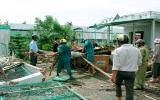 Các tỉnh phía Nam khắc phục hậu quả lốc xoáy