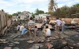 Cháy xưởng gỗ, thiệt hại hơn 5 tỉ đồng