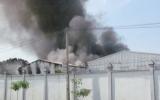 Cháy dữ dội tại Công ty giày ADORA Việt Nam