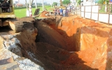 Sạt lở hố công trình, 3 người thiệt mạng