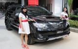 Toyota trình làng Fortuner máy dầu mới