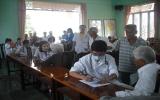 Khám bệnh và phát thuốc miễn phí ở xã Bạch Đằng (Tân Uyên)