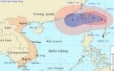 Xuất hiện cơn bão mạnh trên biển Đông