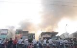Hà Nội: Cháy dữ dội gần Hồ Gươm, một người thiệt mạng