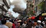 Cháy lớn ở chợ Mỹ Tho