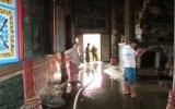Sóc Trăng lại cháy chùa do đốt nến trong chính điện