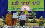 Tỉnh hội Phật giáo:  Tổ chức Lễ Tự tứ 2012
