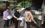 Tặng 1.150 phần quà cho Trung tâm Bảo trợ xã hội Chánh Phú Hòa
