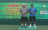Giải quần vợt trẻ quốc tế U18 ITF Junior Championship 2012: Lý Hoàng Nam (Bình Dương) vô địch đơn nam