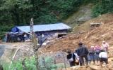Yên Bái: Khẩn trương khắc phục vụ sạt lở núi