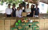 Hiệp hội Thương gia Đài Loan tỉnh Bình Dương thăm, tặng quà cho các đối tượng xã hội