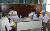 Trạm Y tế phường Phú Cường (TP.TDM): Khám bệnh và phát thuốc miễn phí cho 300 người cao tuổi