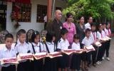 Hội Chữ thập đỏ TP.TDM: Gần 300 triệu đồng giúp học sinh nghèo hiếu học
