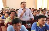 Lãnh đạo tỉnh tọa đàm với cán bộ công đoàn và công nhân lao động TX.Thuận An