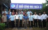 Hội LHTN huyện Tân Uyên xây tặng Nhà nhân ái
