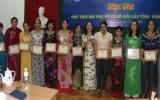 Hội LHPN tỉnh tổng kết cuộc thi Chủ tịch Hội phụ nữ cơ sở giỏi cấp tỉnh năm 2012