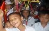 Trung thu kết nối yêu thương trẻ em đảo Lý Sơn