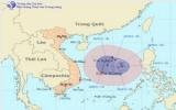 Cơn bão số 7 đang di chuyển theo hướng Đông Đông Nam