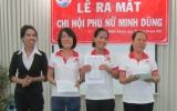Công ty TNHH Thuốc Thú y - Thủy Hải sản Minh Dũng: Ra mắt chi hội phụ nữ