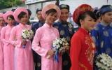 Đám cưới tập thể cho 120 đôi công nhân