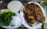 Đổi khẩu vị với cá tai tượng chiên xù