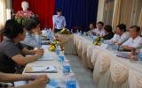 Đoàn giám sát của Cục Y dược cổ truyền làm việc với thị xã Thuận An