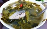 Cá măng nấu lá giang