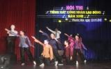 Công ty Cổ phần Cao su Phước Hòa tổ chức hội thi Tiếng hát công nhân lao động năm 2012