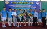 Ra mắt CLB quần vợt Hội doanh nhân trẻ tỉnh Bình Dương