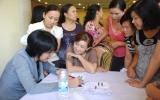 """Hội LHPN TX.Thuận An tổ chức hội thảo nói chuyện chuyên đề """"Phụ nữ khỏe và đẹp"""""""