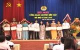 Liên đoàn Lao động huyện Bến Cát tổ chức hội nghị giữa nhiệm kỳ 2010-2015