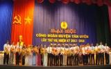 Công đoàn huyện Tân Uyên tổ chức đại hội lần thứ VIII