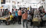 Phố Ẩm thực Eva (P.Bình Hòa, TX.Thuận An): Địa điểm thích hợp để tổ chức tiệc liên hoan cuối năm
