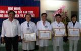 Bệnh viện Điều dưỡng - Phục hồi chức năng tỉnh tổng kết công tác năm 2012
