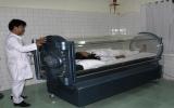 Bệnh viện Điều dưỡng - Phục hồi chức năng tỉnh: Đưa vào sử dụng kỹ thuật điều trị oxy cao áp