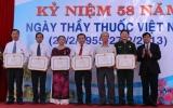 Sở Y tế Bình Dương tổ chức kỷ niệm 58 năm Ngày Thầy thuốc Việt Nam