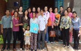 """Phó Chủ tịch Hội LHPN tỉnh Trần Thị Mười Bảy: Đẩy mạnh thực hiện """"Gia đình 5 không, 3 sạch"""""""