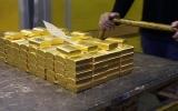 Vàng rớt giá gần 5% trong qúy 1