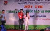 Thị đoàn Thuận An tổ chức hội thi Tìm hiểu kiến thức về bảo vệ môi trường năm 2013