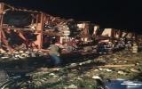 Cận cảnh vụ nổ nhà máy phân bón tại bang Texas (Mỹ)