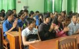 Truyền động lực cho thanh niên công nhân
