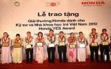 Giải thưởng Honda YES thu hút các kỹ sư trẻ VN