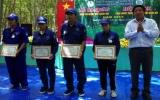 Nông trường Cao su Long Nguyên tổ chức hội thi thợ giỏi thu hoạch mủ năm 2013