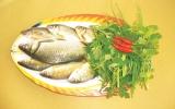 Canh ngải cứu cá diếc