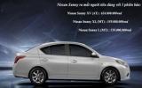 Nissan Sunny tại Việt Nam có giá bán từ 518 - 588 triệu đồng