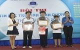 Thủ Dầu Một đoạt giải nhất Hội thi Tin học trẻ Bình Dương lần thứ XVII